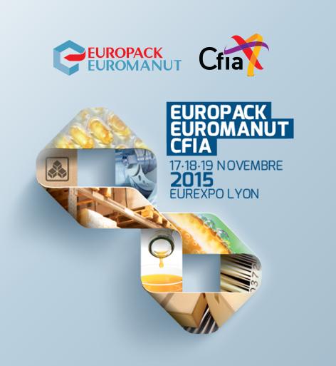 Participation Abzac au salon Europack Euromanut CFIA